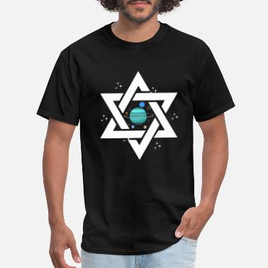 Judaism Star of David gift Judaism family - Men's T-Shirt