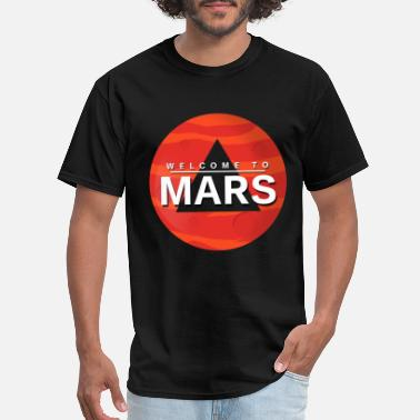 Mars Mars Gift Planet Space Kids Baby - Men's T-Shirt