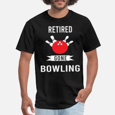 Bowling Ball bowling ball pins thrower bowling champion spinner - Men's T-Shirt