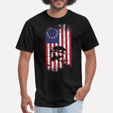 T-Shirts, Tops & Shirts American flag and eagle head Boys Girls Birthday gift Top T shirt 117