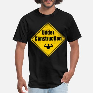 Crossfit under_construction_t-shirt - Men's T-Shirt