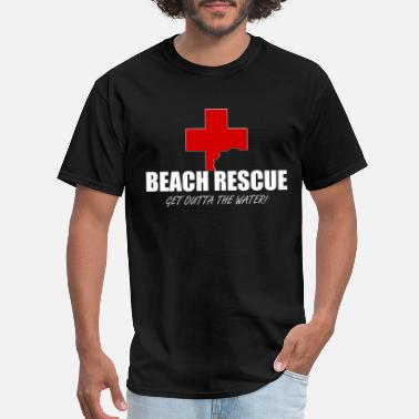 Sea Rescue Beach Rescue - Men's T-Shirt