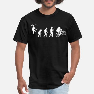 Mountain Biking Mountain Biking Evolution - Men's T-Shirt
