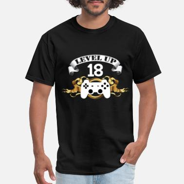 Eighteen 18th birthday - finally level 18 - Men's T-Shirt
