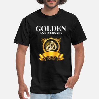 Golden Anniversary Golden anniversary - Men's T-Shirt
