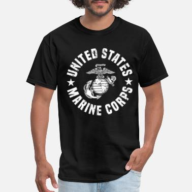 Usa US Marine Corps - Men's T-Shirt