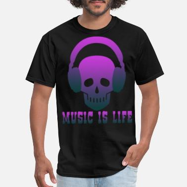 Musicality Music is Life music,musical instrument,music club - Men's T-Shirt