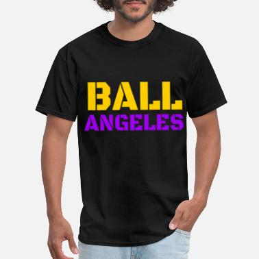 Lo Sport Basketball Sports Basketball Team Los Angels - Men's T-Shirt