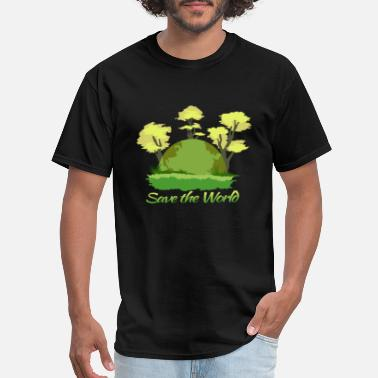 Save The World Earthday save the world - Men's T-Shirt