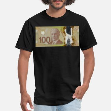 Dollar Bill 100 Canadian Dollar Bill - Men's T-Shirt