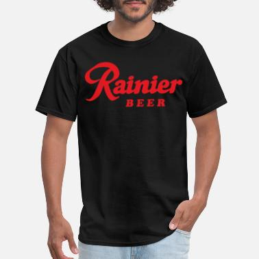 Rainier Beer Black Fast High Quality beer - Men's T-Shirt