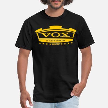 86980fed059dd Vox Vox Amplification Guitar Gold Tone Tee Womens Mens - Men's T