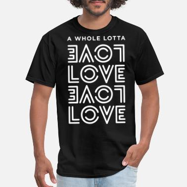 Led Zeppelin a whole lotta love love visualphilosophy led zeppe - Men's T-Shirt