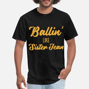 Fnaf Sister Location ballin like sister team yellow for shirt mens or w - Men's T-Shirt