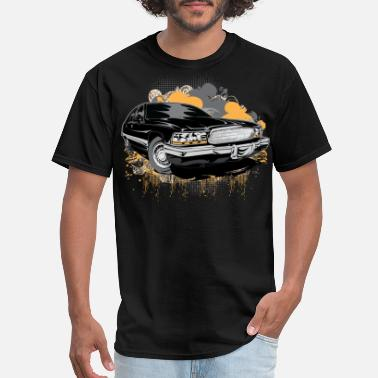 Cadillac Cadillac Black Alt - Men's T-Shirt