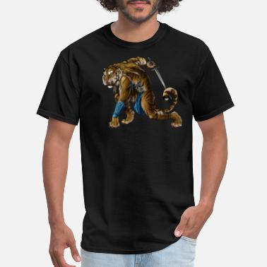 Cancer Warrior tiger warrior - Men's T-Shirt
