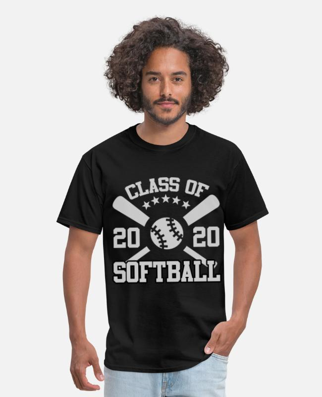 Class Of T-Shirts - 2020 AA.png - Men's T-Shirt black