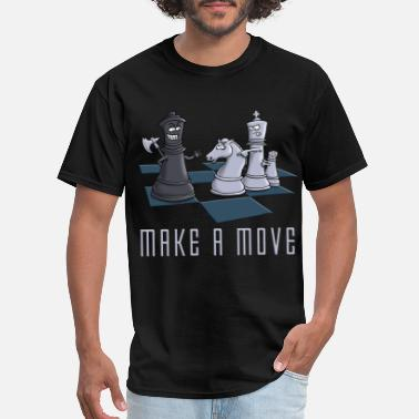 Chess chess_make_a_move_11_2016 - Men's T-Shirt