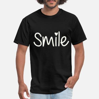 Smiling Heart Smile with heart - Men's T-Shirt