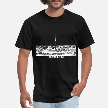 Icc Berlin skyline City view - Men's T-Shirt