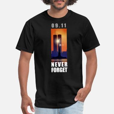 9-11 Attacks 09,11 - September 11 attacks - New York - WTC - Men's T-Shirt
