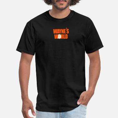Saturday Night Live Waynes World logo SNL Saturday Night Live 90s - Men's T-Shirt