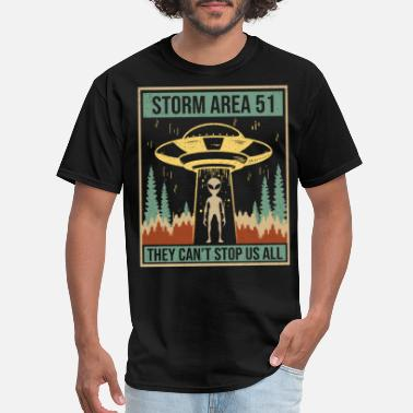 Storm Area 51 Storm Area 51 They Can't Stop Us All - Men's T-Shirt