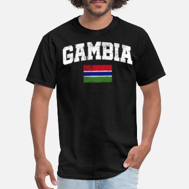 Gambia Flag Gambia flag - Men's T-Shirt