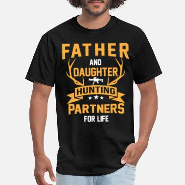 Archery Hunting dad - Father and daughter Hunting Partners - Men's T-Shirt