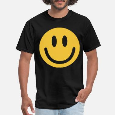 Smiley Adult s Smiling Cute Emoticon Tee for - Men's T-Shirt