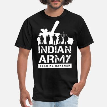 One Man Army indian army desk ke rakshak army - Men's T-Shirt