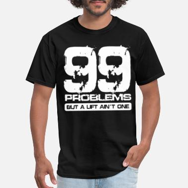 Bodybuilding Sportswear PROBLEMS tee gym bodybuilding weights training fun - Men's T-Shirt