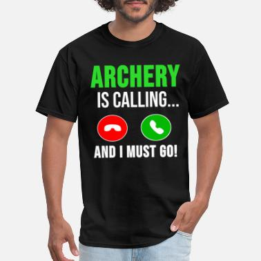 Shooting Club Archery TShirt Archer Bow Arrow Gift Idea - Men's T-Shirt
