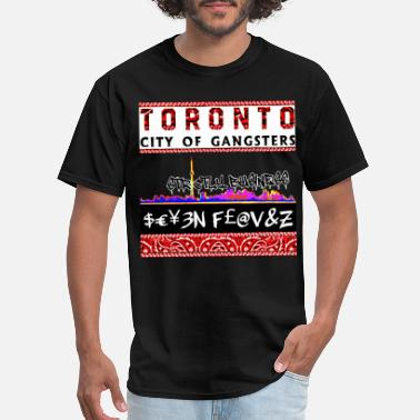 Garage Music TORONTO CITY OF GANGSTERS STRICTLY BUSINESS GEAR - Men's T-Shirt