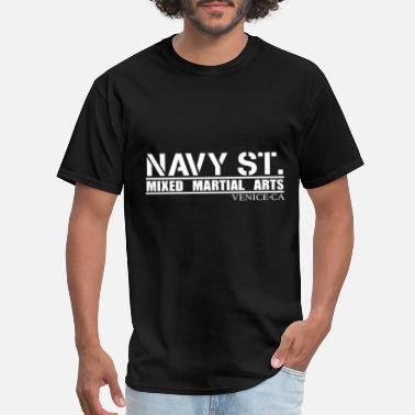 St Navy St MMA - Men's T-Shirt