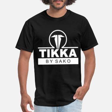 Tikka TIKKA by SAKO Firearms Gun Logo Mens Long Sleeve B - Men's T-Shirt
