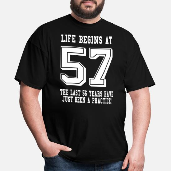 57th Birthday Gift All British Parts 1963 Mens T-Shirt Present 57 Ideas
