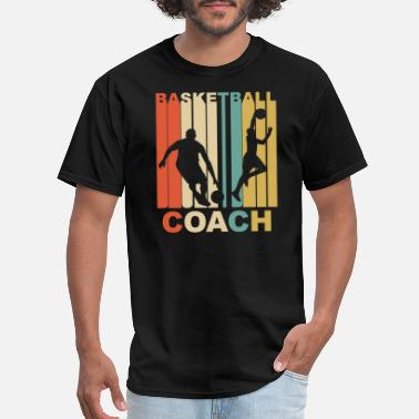 Coach Vintage Basketball Coach Graphic - Men's T-Shirt