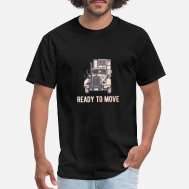 Road Transport Ready to move Transport Road - Men's T-Shirt