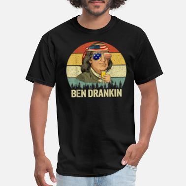 Ben Drankin 4th of July Ben Drankin 4th of July - Men's T-Shirt