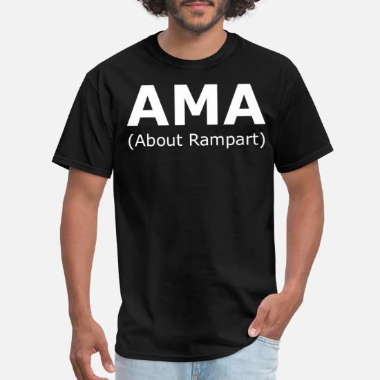 AMA (About Rampart) Men's T-Shirt   Spreadshirt