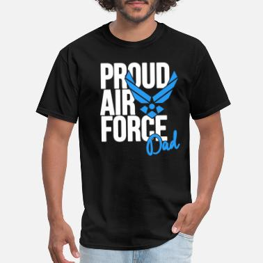 Air Force Dad Army Father - Men's T-Shirt