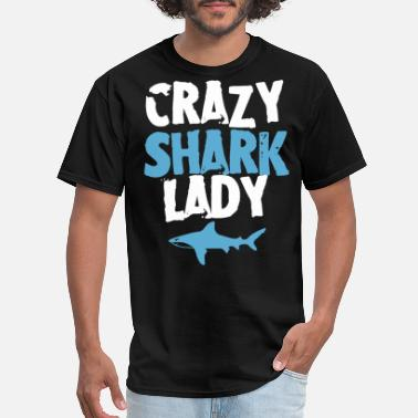 Supreme Shark crazy shark lady shark - Men's T-Shirt