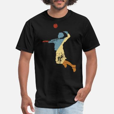 Volleyball Funny Retro Volleyball shirt Funny volleyball - Men's T-Shirt