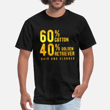 Golden Golden Retriever - Men's T-Shirt