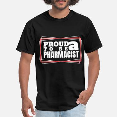 Mdma Proud to be a pharmacist - Men's T-Shirt