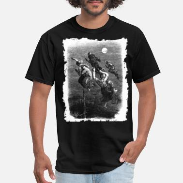 Satan Gothic WITCHES' RIDE - OCCULT & WITCHY STYLE - Men's T-Shirt