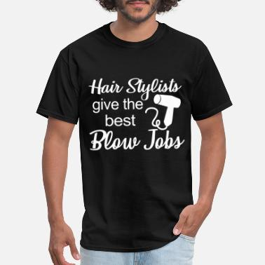 Women-underwear hair stylists give the best blow jobs redhair t sh - Men's T-Shirt
