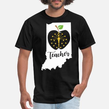 teacher indialia america teacher - Men's T-Shirt
