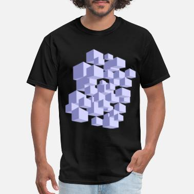 Cool Art 3D Art Cubic cool - Men's T-Shirt